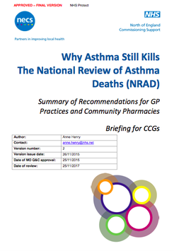 Why Asthma Still Kills The National Review of Asthma Deaths